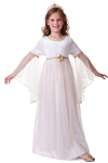 GOLD SPARKLE ANGEL CHILDRENS FANCY DRESS COSTUME